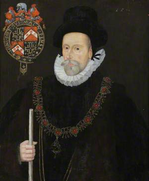 Sir Francis Knollys the Elder (1512–1596), Lord Treasurer of the Household (1572–1596)