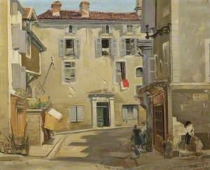 Street Scene in France (?)