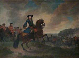 William III (William of Orange) (1650–1702), at the Second Seige of Namur, 2 July to 1 September 1695