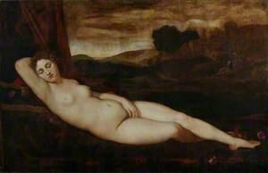 Venus Sleeping in a Landscape