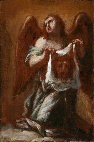 An Angel Holding Veronica's Veil