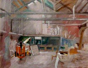 Interior of Titian's Studio, Venice