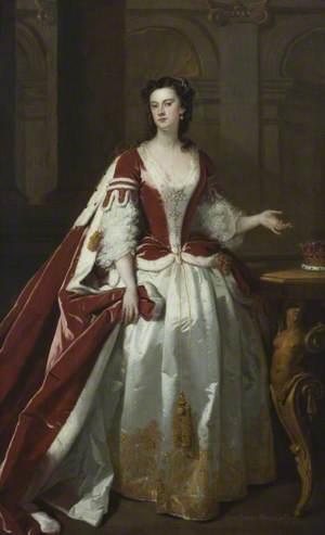 Lady Grace Carteret (1713–1755), Countess of Dysart