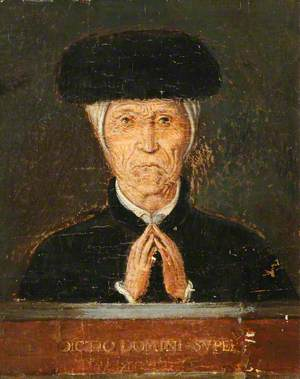 Portrait of an Old Man (or Woman) Praying