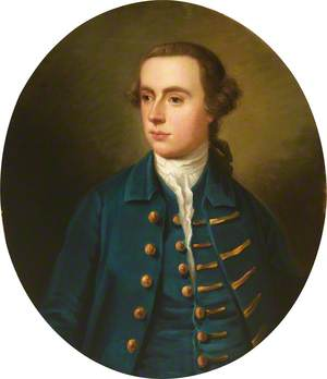 Portrait of an Unknown Young Man in Blue