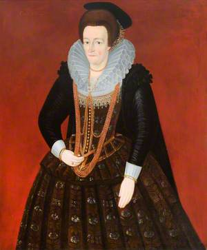 Portrait of an Unknown Lady of c.1600