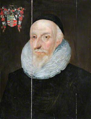 Portrait of an Old Man, Identified as Sir Henry Savile (1549–1622), Provost of Eton