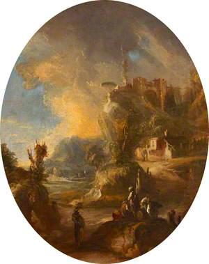 Dramatic Capriccio Landscape