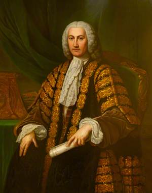 The Right Honourable Henry Bilson-Legge (1708–1764), in His Robes as Chancellor of the Exchequer