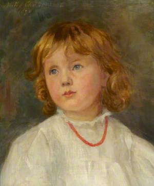 Portrait of a Sister of Ralph Stawel Dutton, as a Child