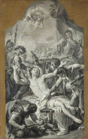 Ricordo of the Martyrdom of Saint Lawrence