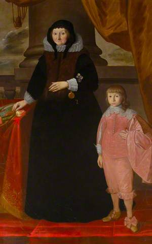 Dorothy Bonham (1572–1641), Dame Dorothy Selby, and an Unknown Boy