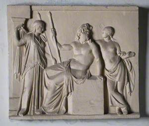 Zeus with Attendants