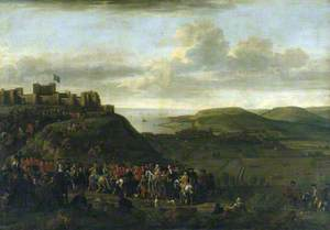 Lionel Sackville (1688–1765), 1st Duke of Dorset, Lord Warden of the Cinque Ports, Returning in Procession to Dover Castle