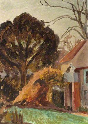 Monk's House, and a Tree in the Garden