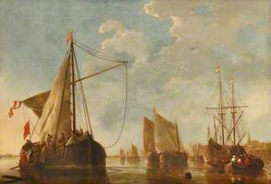 Shipping on the Maas at Dordrecht