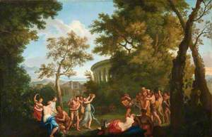 Bacchanal with the Drunken Silenus on an Ass