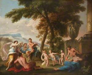 A Bacchanalian Scene