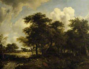 A Landscape with a Common and Coppice and Cattle