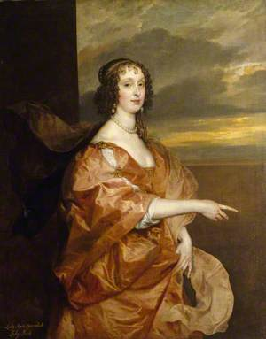 The Honourable Anne Boteler (c.1610–1669), Countess of Newport, Later Countess of Portland