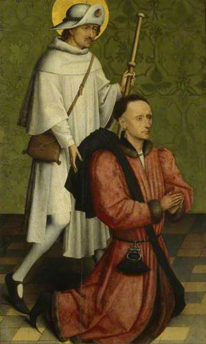 A Donor and Saint James the Great