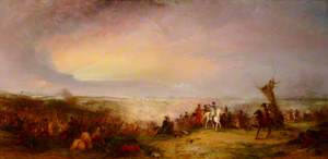 The Battle of Waterloo, 1815: The Retreat of the French