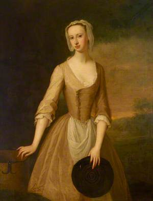 Lady Catherine Hyde (1700–1777), Duchess of Queensberry, as a Milkmaid