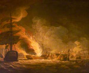 The Battle of the Nile, 1 August 1798