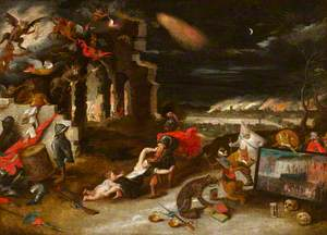 Allegory on the Consequences of the Execution of Charles I
