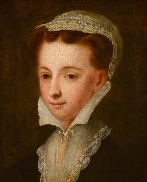 Portrait of an Unknown Lady with a Coif