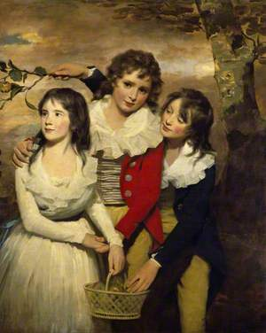 The Paterson Children: Margaret (d.1845), George (1778–1846), and John (1778–1858)