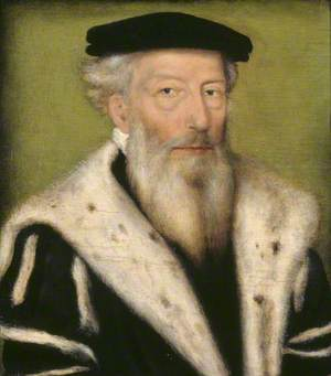 Portrait of an Unknown Old Bearded Man