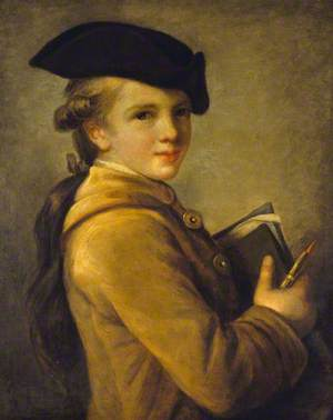 Supposed Portrait of the Artist's Brother, Louis-Jean-Baptiste-Etienne Vigée (1758–1820)