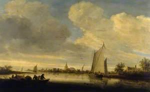A River Estuary