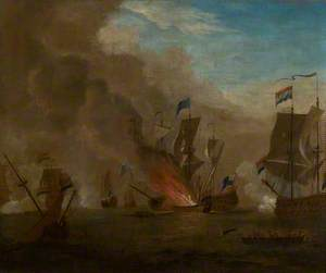 The Battle of Sole Bay, 1672