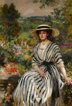 Mary Rosamond Anstruther (1877–1958), Mrs Edward Windsor Hussey