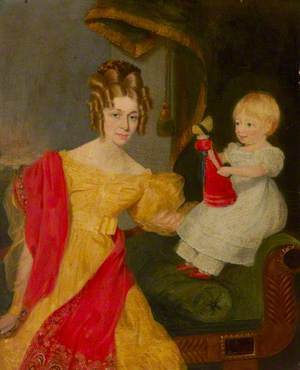 Portrait of an Unknown Mother with Her Child