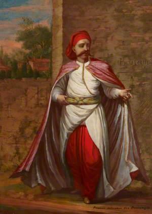 Turkish Men and Women: 'Rasseki defenseur des Bostangis'