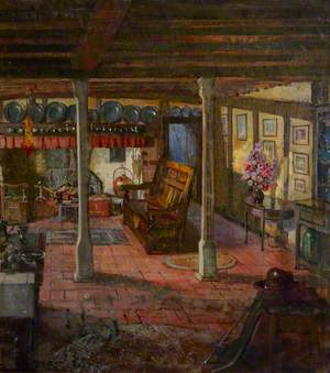 The Dining Room at Smallhythe Place