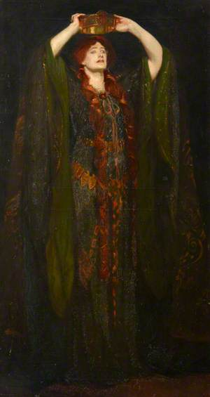 Dame Ellen Terry (1847–1928), as Lady Macbeth in William Shakespeare's 'Macbeth'