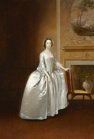 Portrait of an Unknown Lady before a Chimneypiece