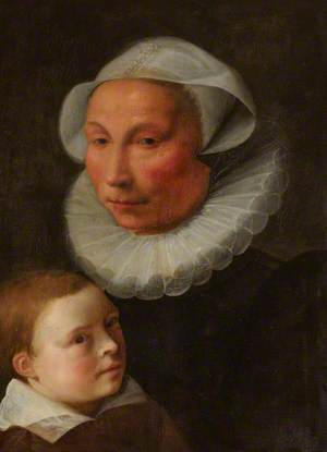 Portrait of a Mother and Son