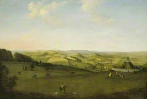 A View over the Downs near Uppark