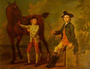 A Gentleman with Horse and Groom
