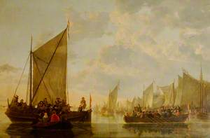 A Landing Party on the Maas at Dordrecht