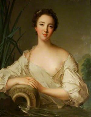Louise-Henriette de Bourbon-Conti (1726–1759), as a River Goddess