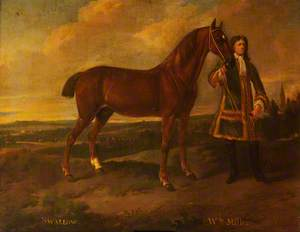 'Swallow' and Old William, Groom to Sir T. S. Bonnet