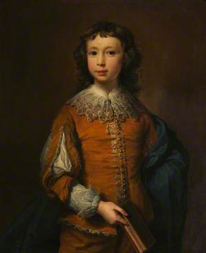 A Boy in Van Dyck Costume