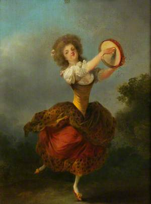 A Dancer with a Tambourine