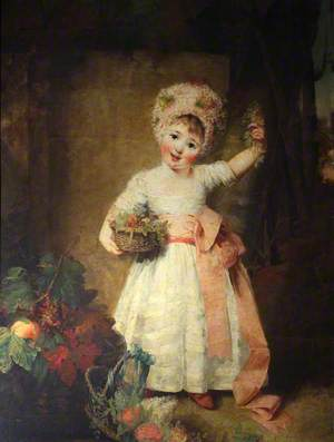 Lady Elizabeth Isabella Manners (1778–1853), as a Child, Later Lady Richard Norman